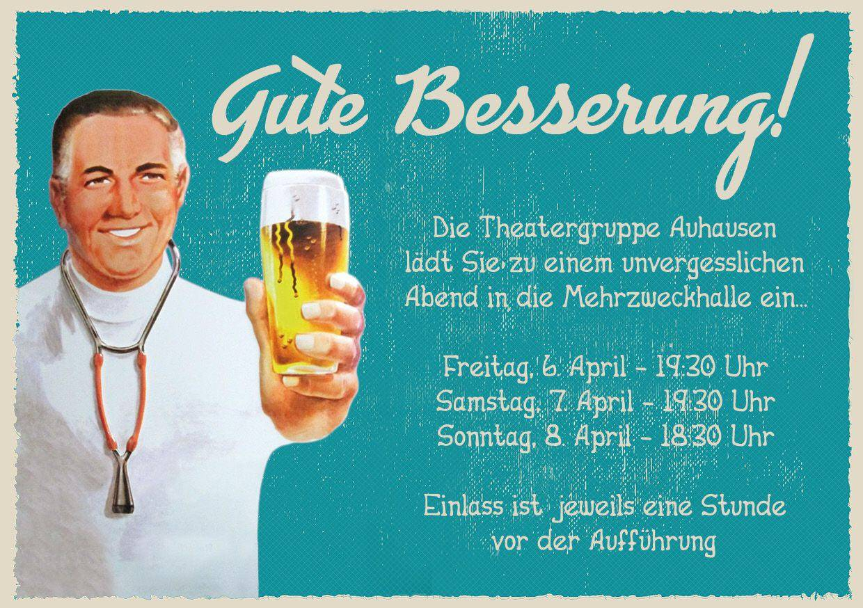 (c) Theatergruppe Auhausen - Flyer 2018
